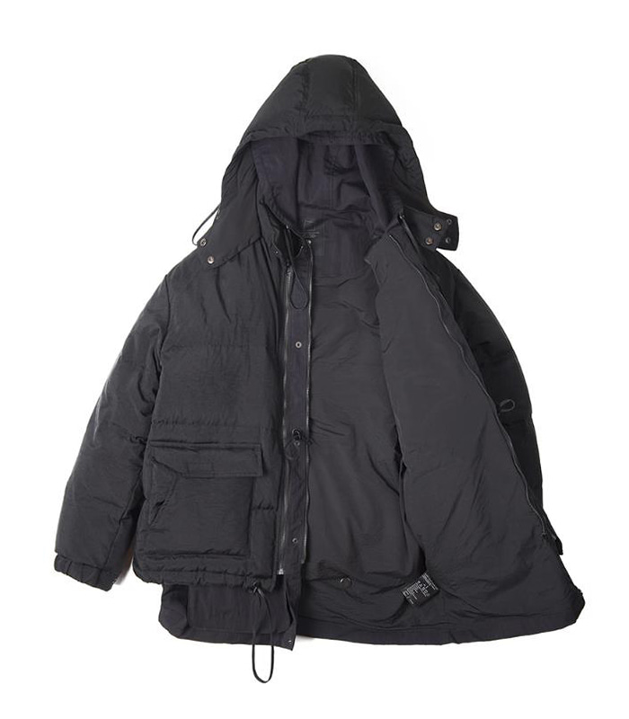 오파츠 Mountain Downparka (Black)