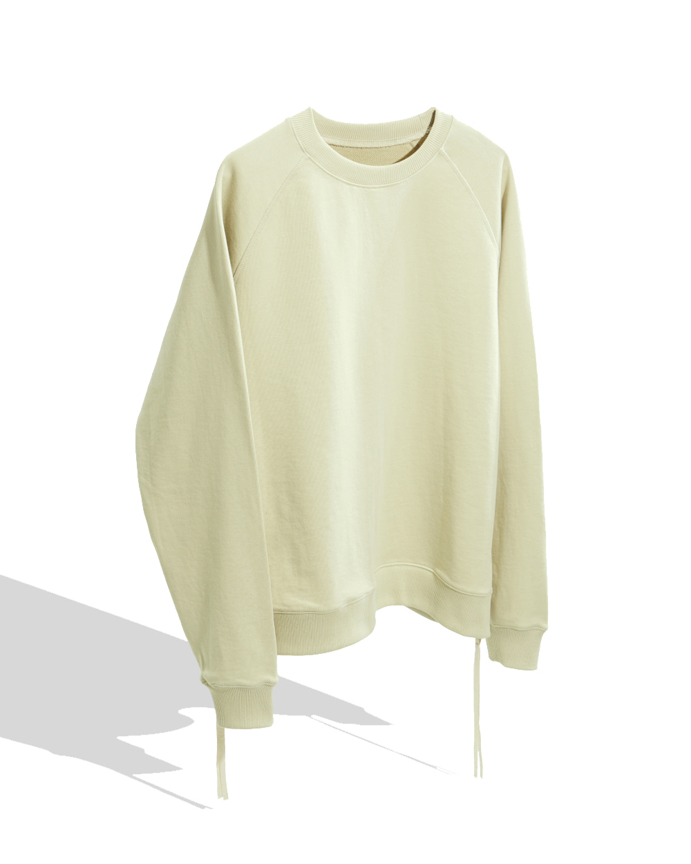 유스 Side Zip-up Sweatshirt (Ivory)
