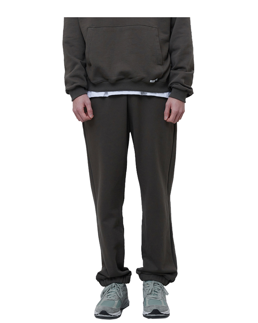 에이카화이트 FINEST COTTON SWEATPANTS (Olive)