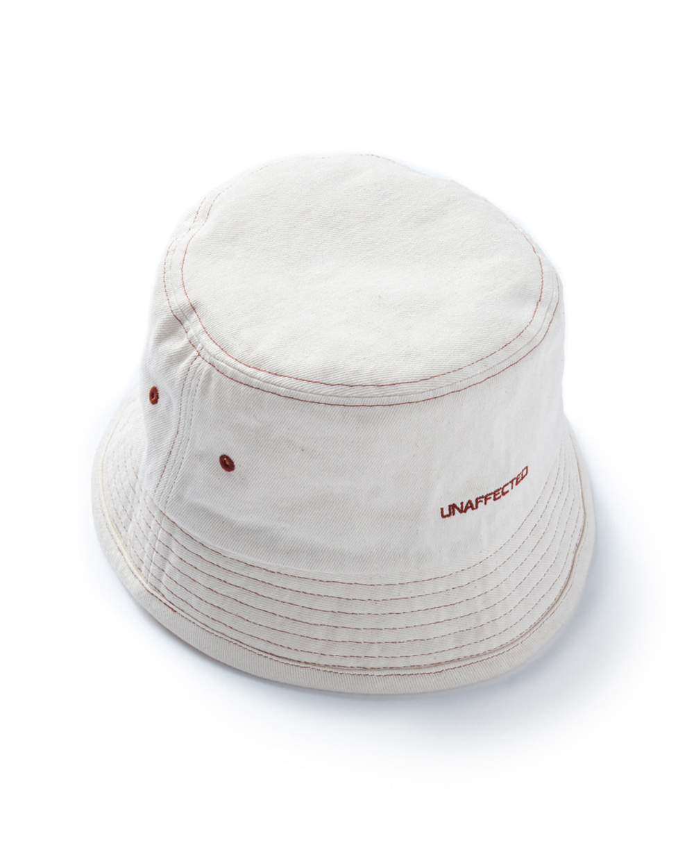 언어펙티드 LOGO BUCKET HAT (Ecru)