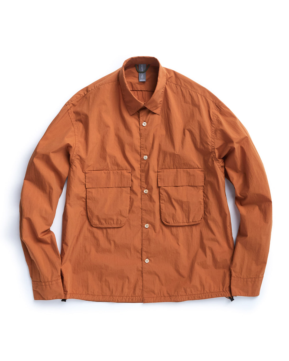 언어펙티드 OVERSIZED SHIRT (Ocher Orange)