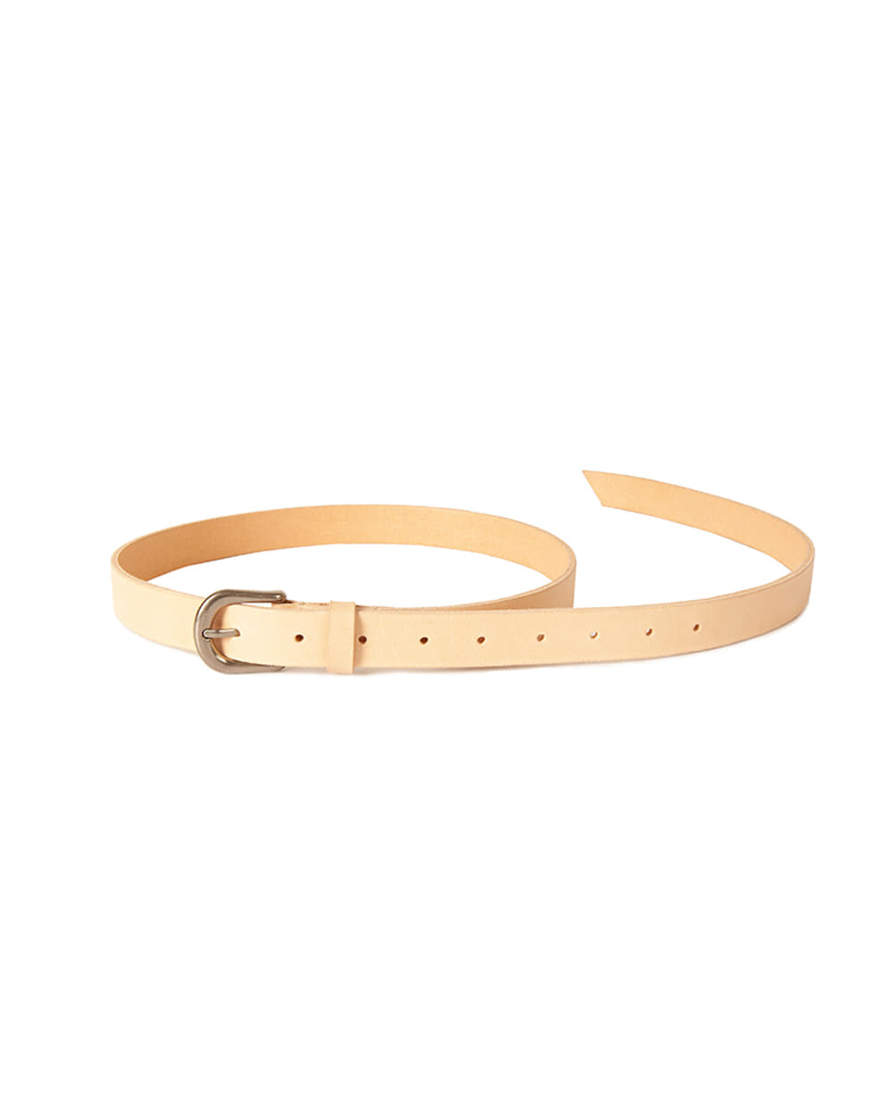 브라운야드 Leather Belt (Natural)