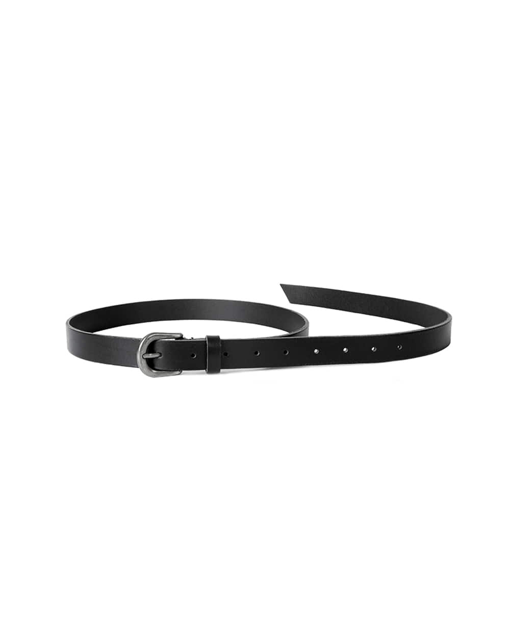 브라운야드 Leather Belt (Black)