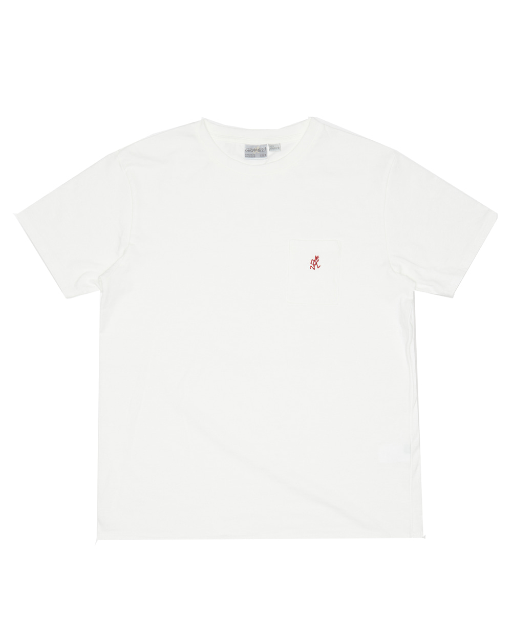 그라미치 ONE POINT TEE (White)