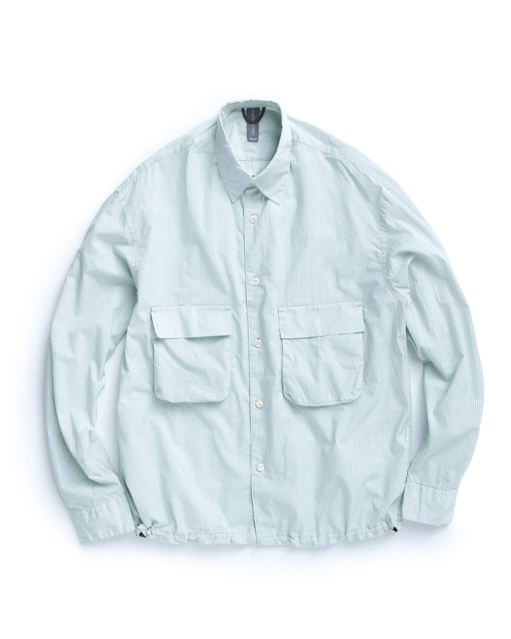 언어펙티드 OVERSIZED SHIRT (Misty Mint)