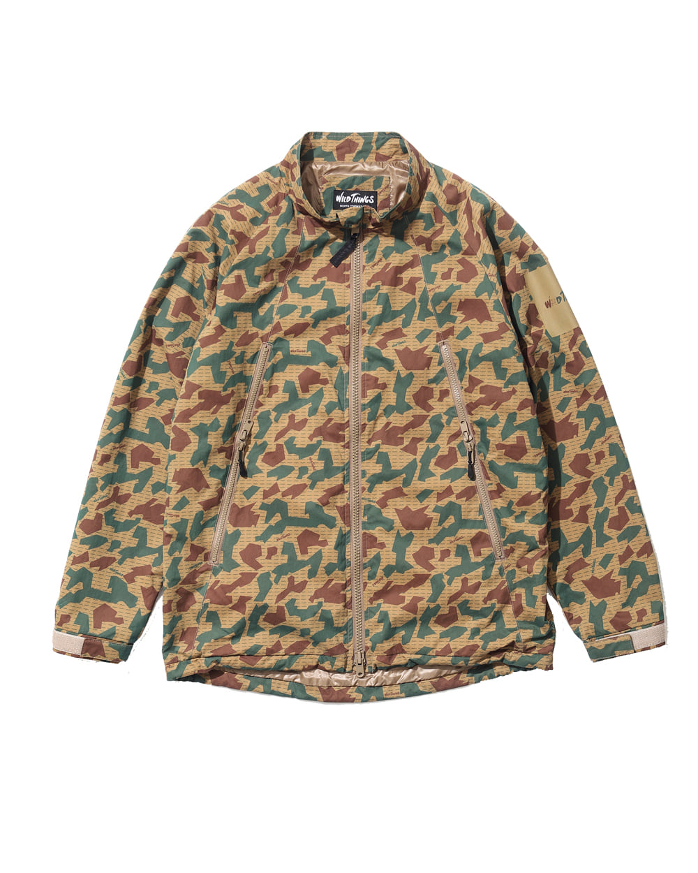 와일드띵스 LIGHT HAPPY JACKET (Camo)