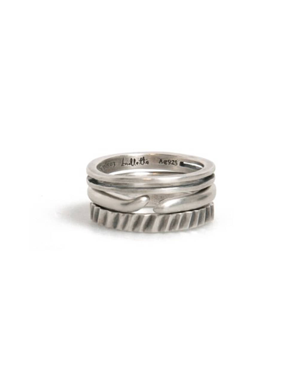 불레또 20 LAYERED RING SET