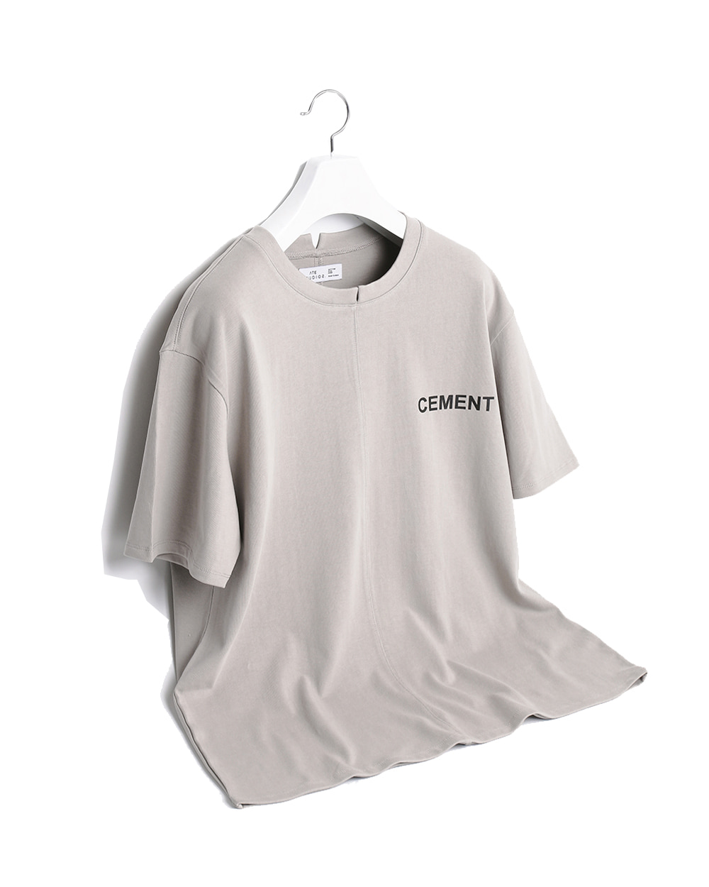 ATE STUDIOS CENMENT PRINTED T-SHIRTS (Grey)