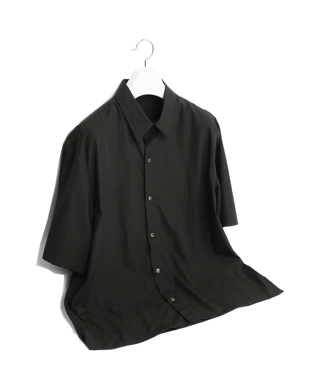 ATE STUDIOS MULTI OPEN HALF SHIRTS VER.YOKE (Black)