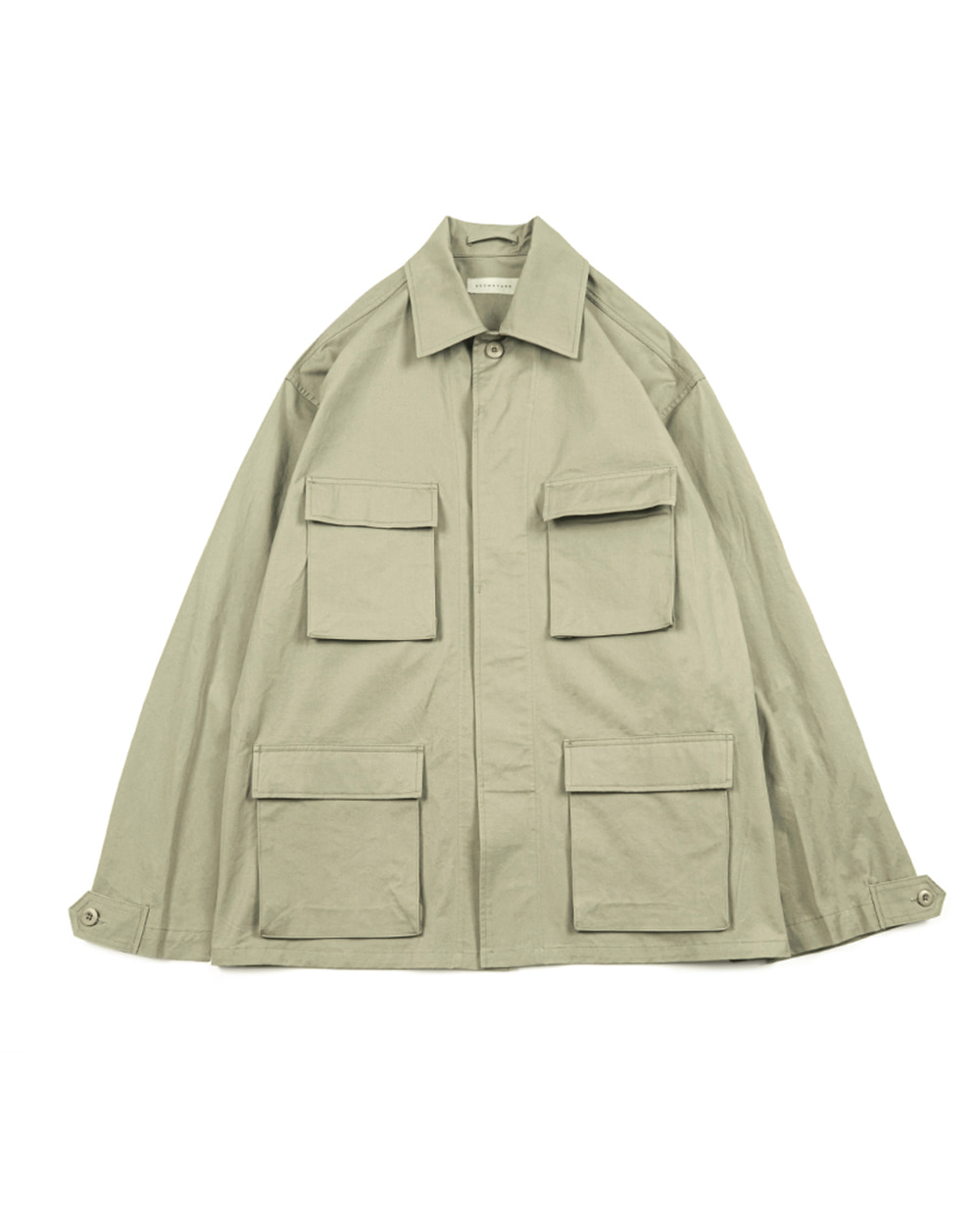 브라운야드 BDU Jacket (Light olive)