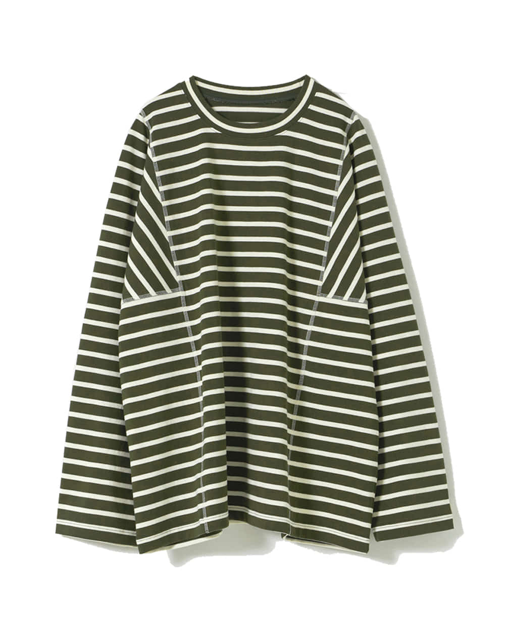 유스 Structured T-Shirt (Olive/Ivory)