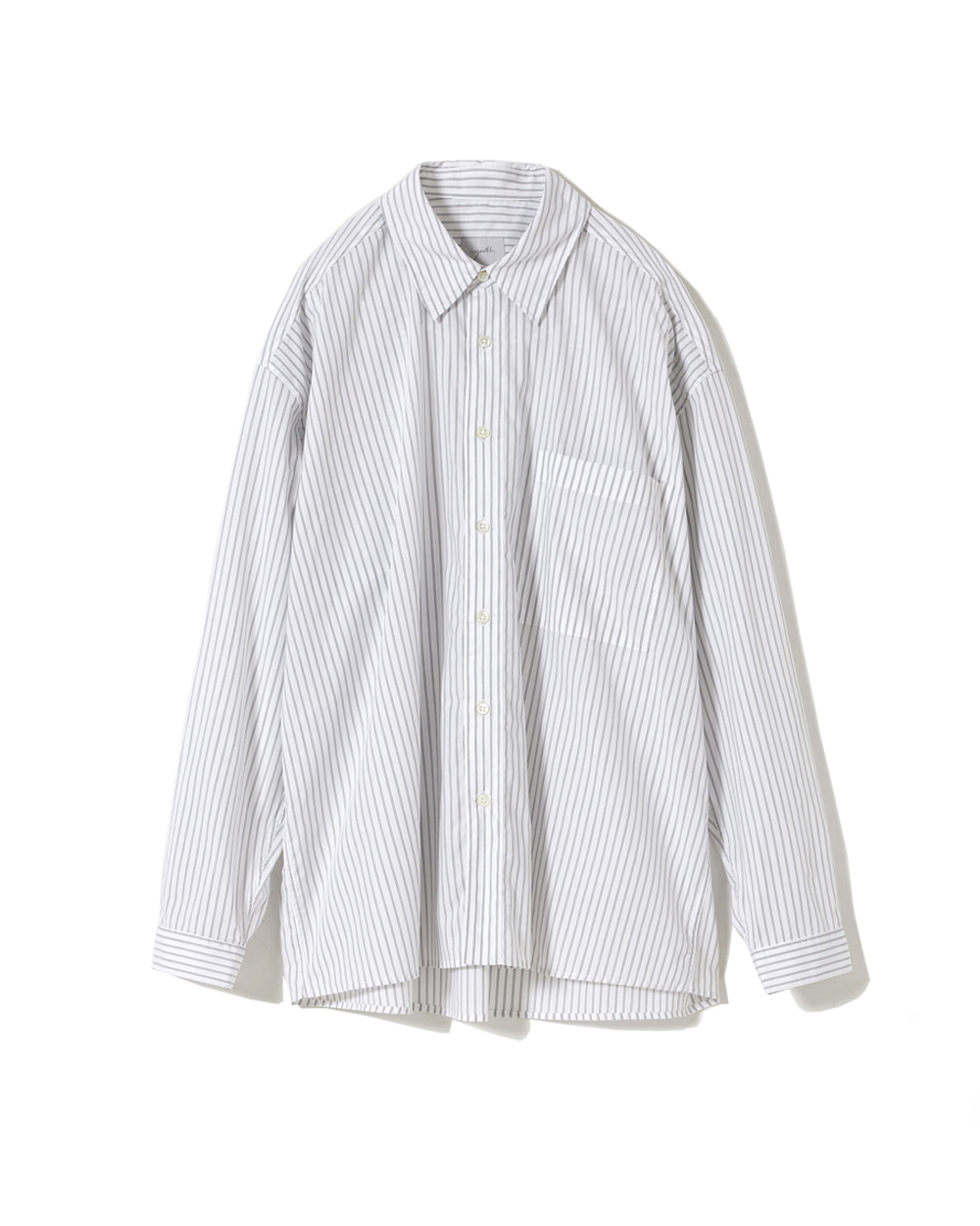 유스 Loosed Shirt (White Stripe)