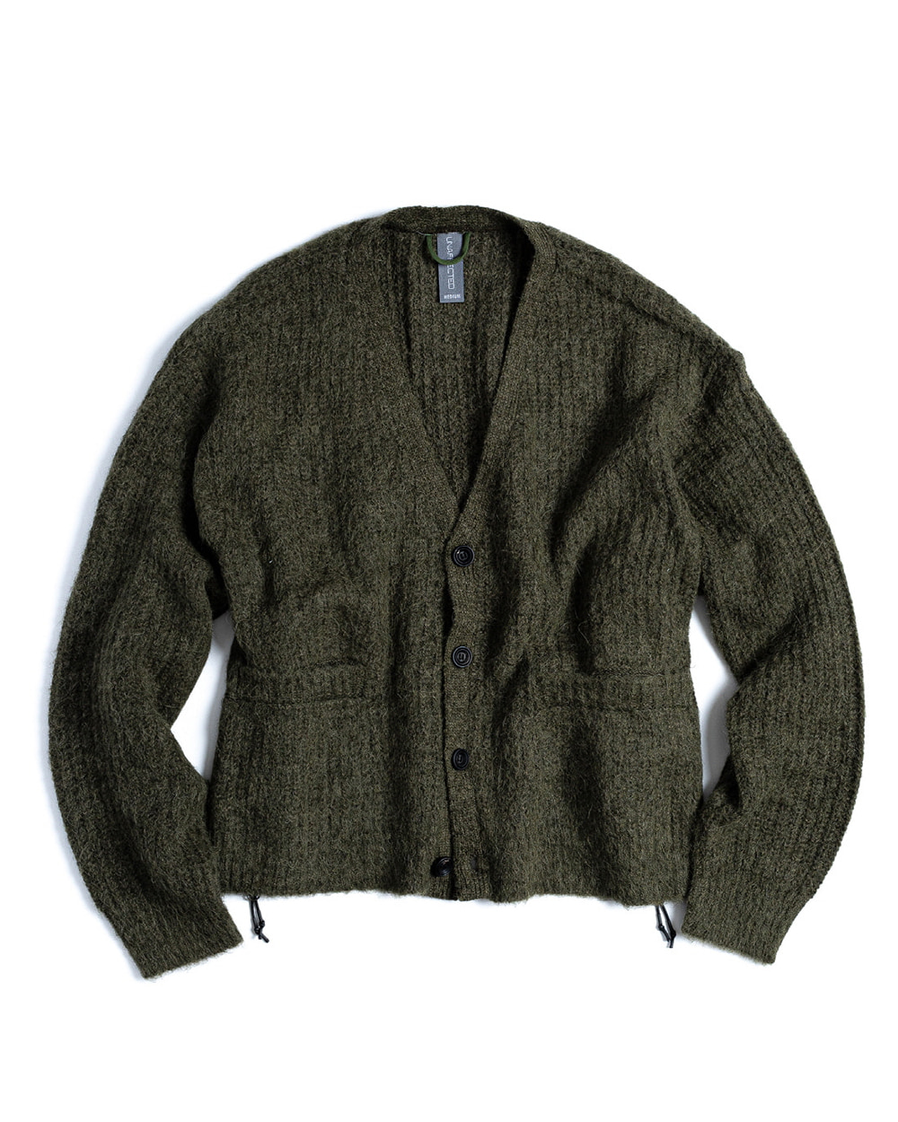 언어펙티드 OVERSIZED FLUFFY CARDIGAN (D.Sage Green)