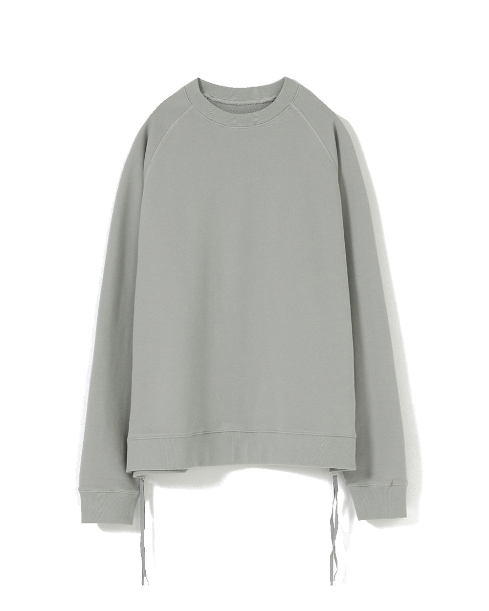 유스 Side Zip-up Sweatshirt (Mint grey)