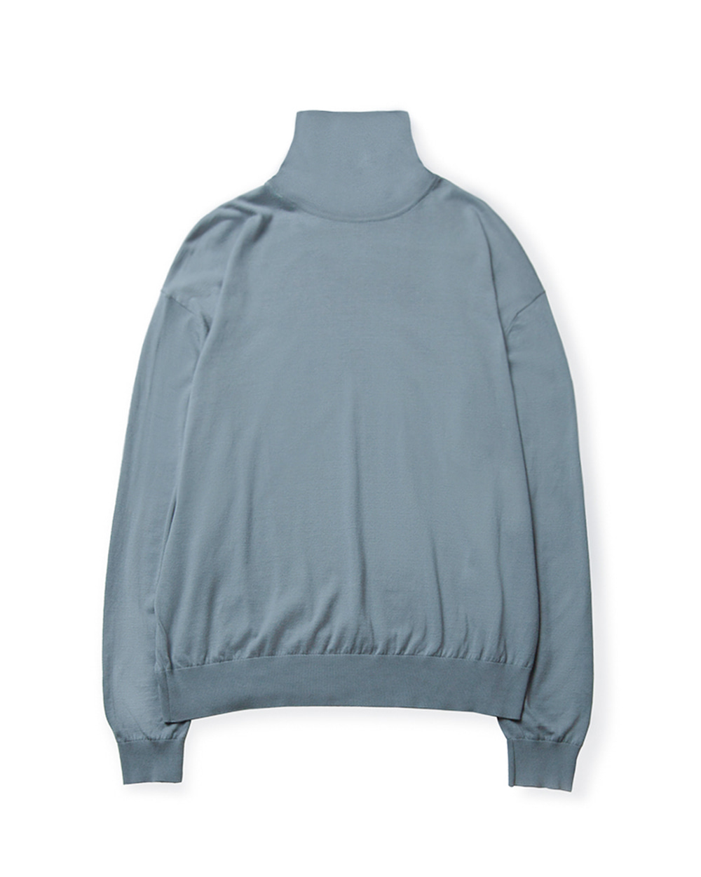 브라운야드 HIGH GAUGE TURTLENECK (Sky blue)