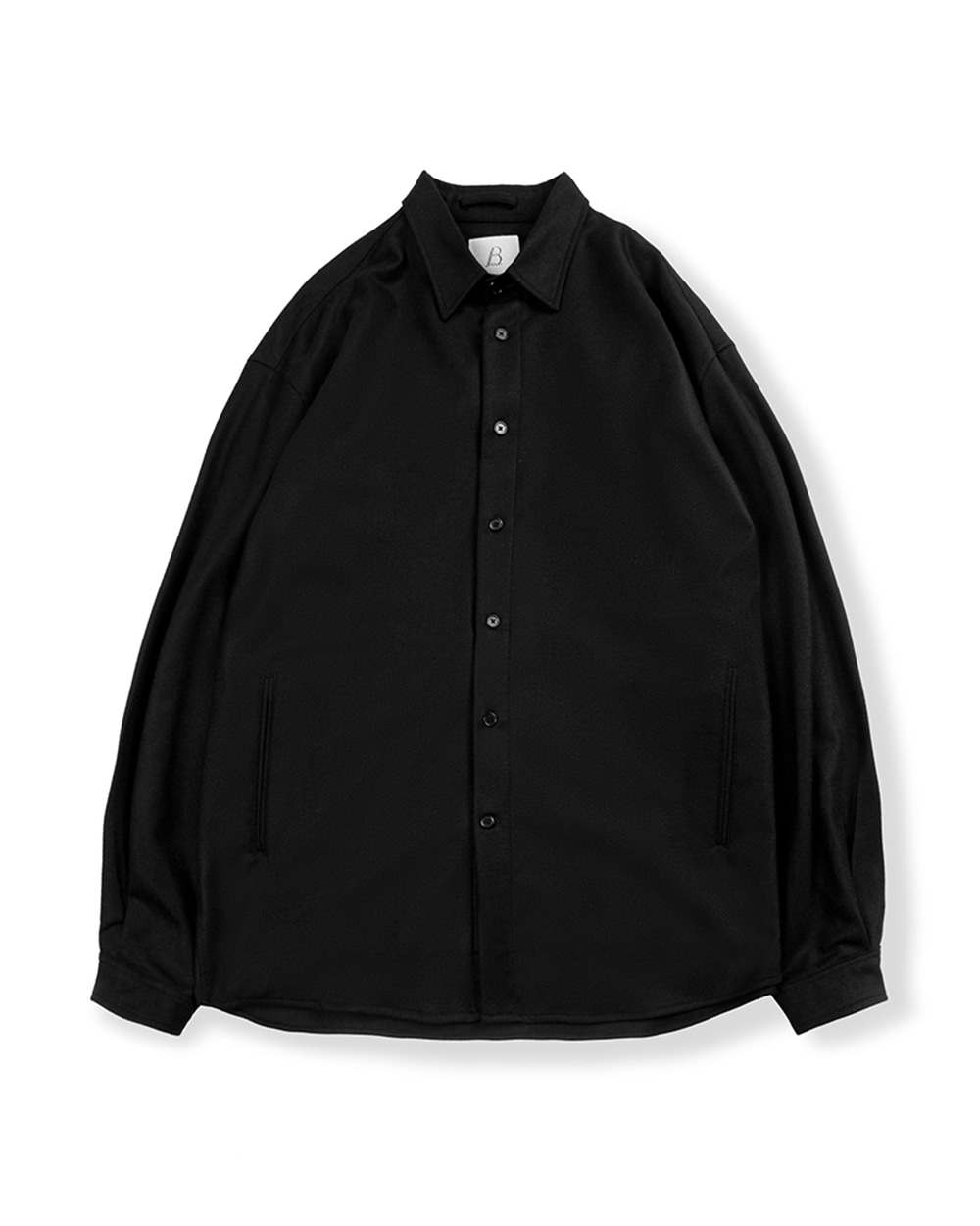 브라운야드 OVERSIZED SHIRT (Black)