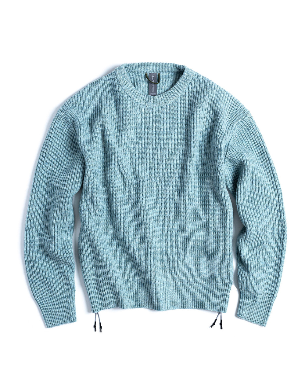 언어펙티드 OVERSIZED CREWNECK KNIT (Mint Melange)