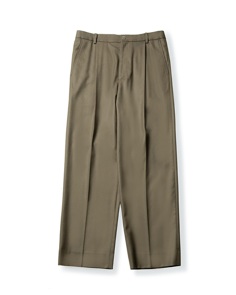 브라운야드 WIDE PANTS (Dark beige)