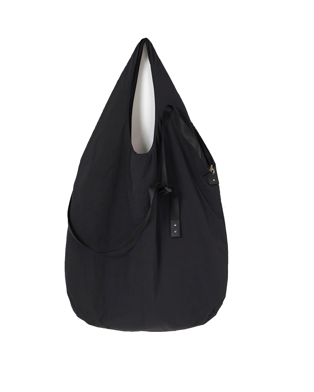 유스 Padded Shopper Bag (Black)