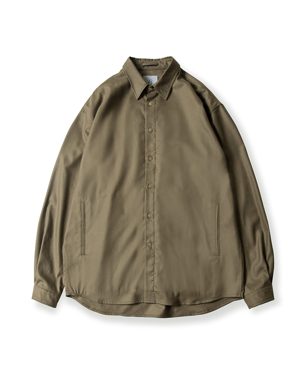 브라운야드 OVERSIZED SHIRT (Dark beige)