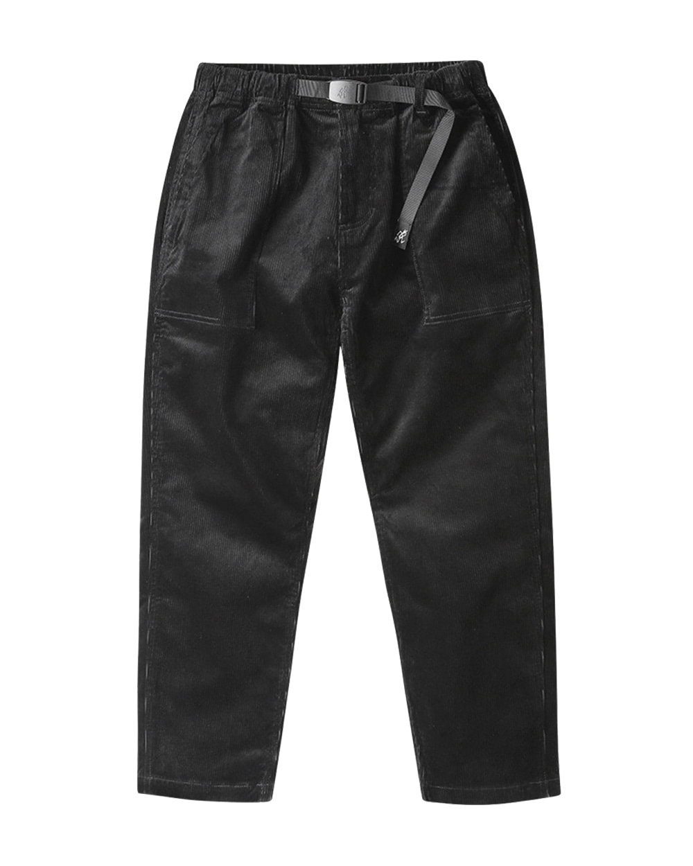 그라미치 CORDUROY LOOSE TAPERED PANTS (Black)