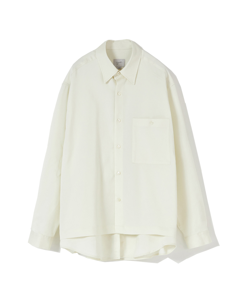 유스 Layered Shirt (White)