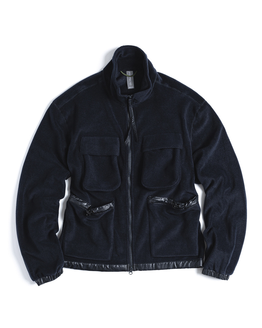 언어펙티드 FULL ZIP POLAR FLEECE JACKET (Navy)