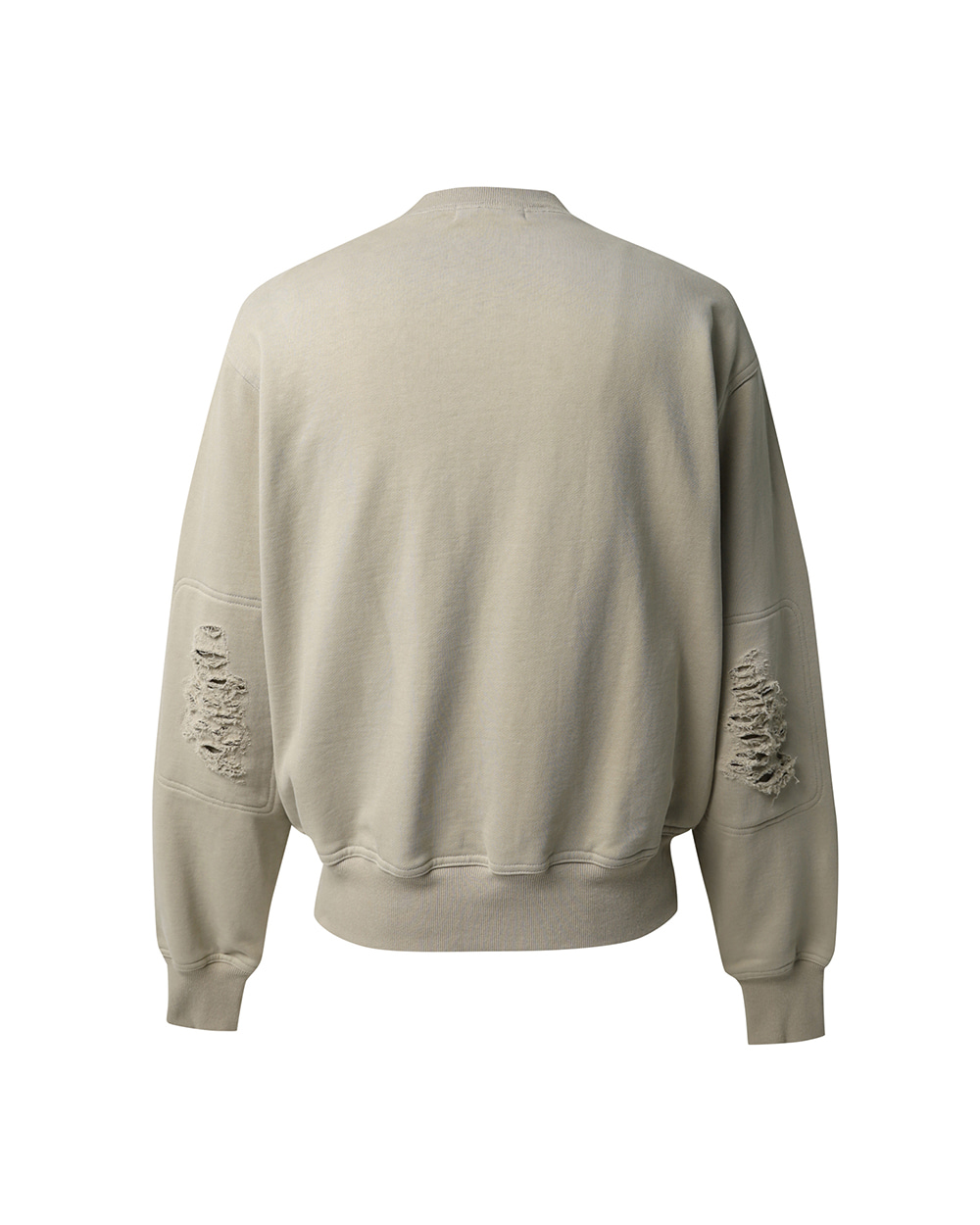 ATE STUDIOS AUTHENTIC SCAR SWEAT SHIRTS (Beige)