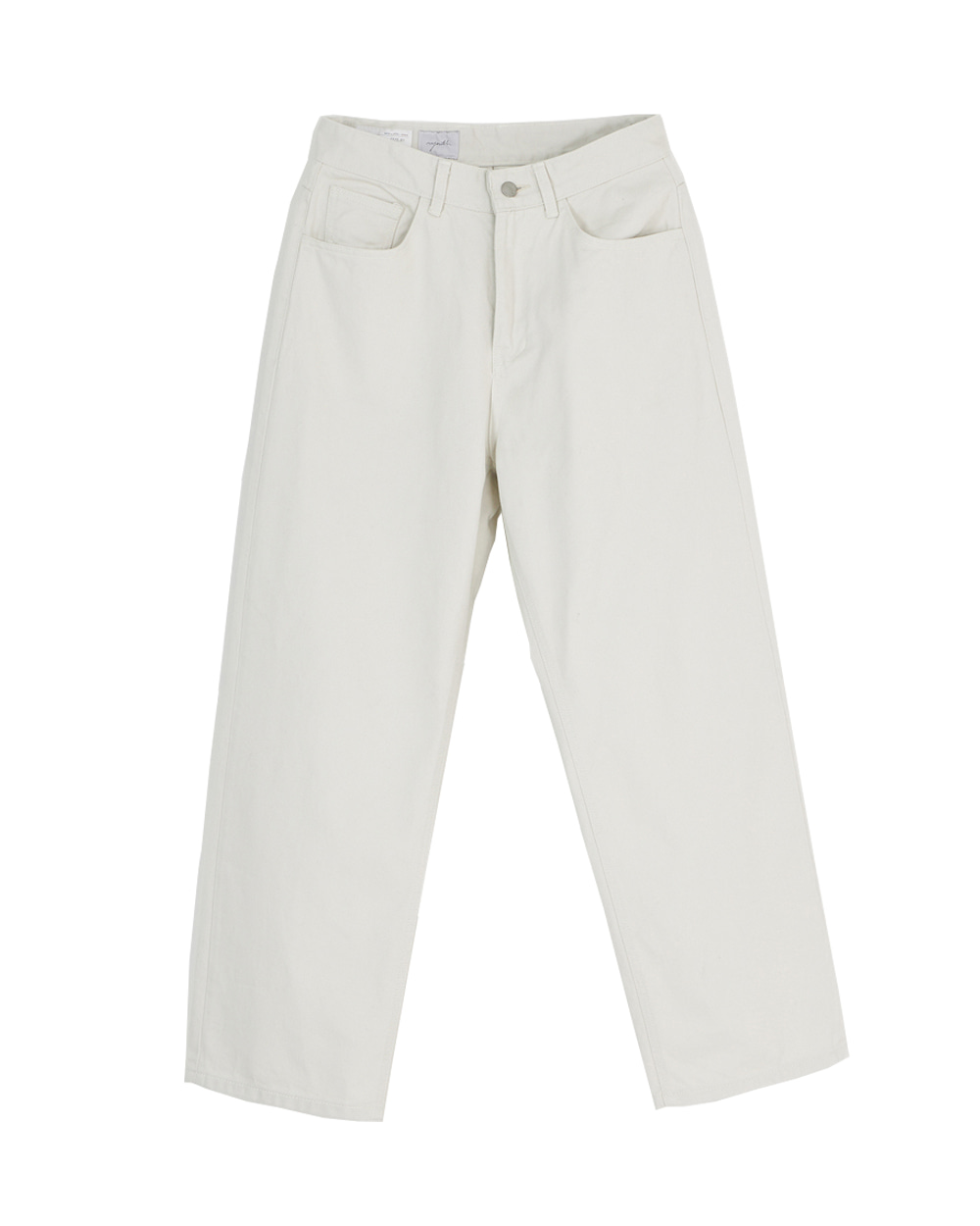 유스 Wide Denim Pants (Light Grey)