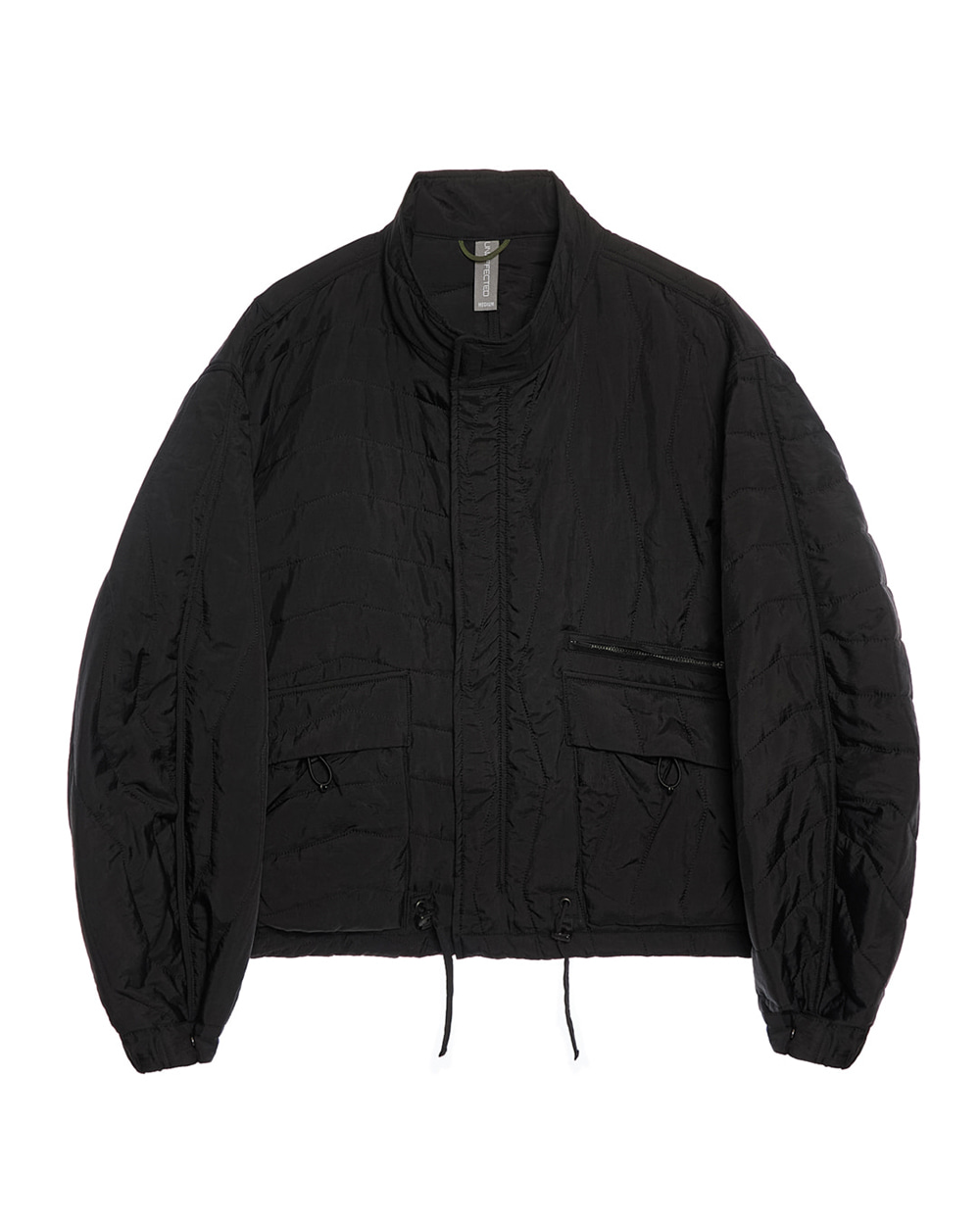 언어펙티드 MULTI QUILTED BLOUSON (Black)_RESTOCK