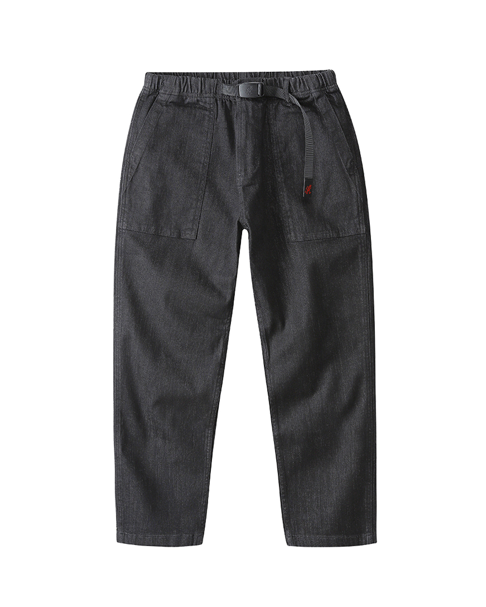 그라미치 DENIM LOOSE TAPERED PANTS (Black one wash)