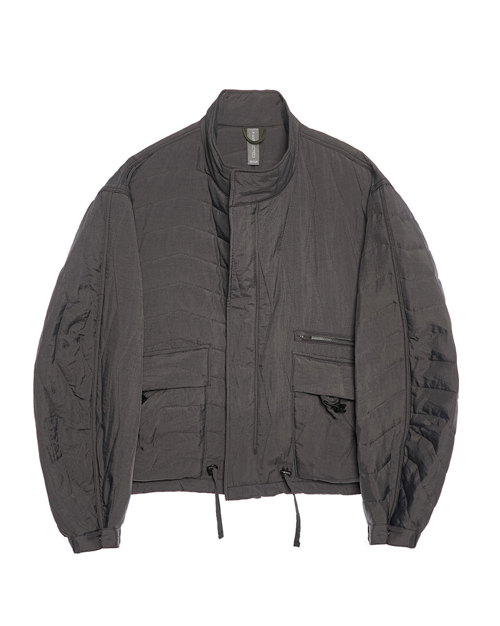 언어펙티드 MULTI QUILTED BLOUSON (Charcoal)