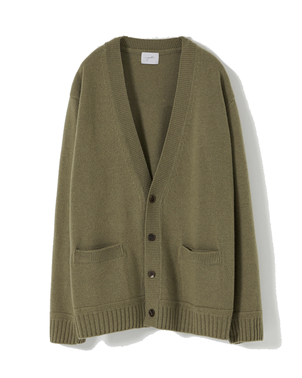 유스 Oversized Cardigan (Olive grey)