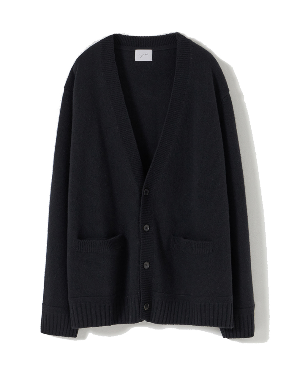 유스 Oversized Cardigan (Black)