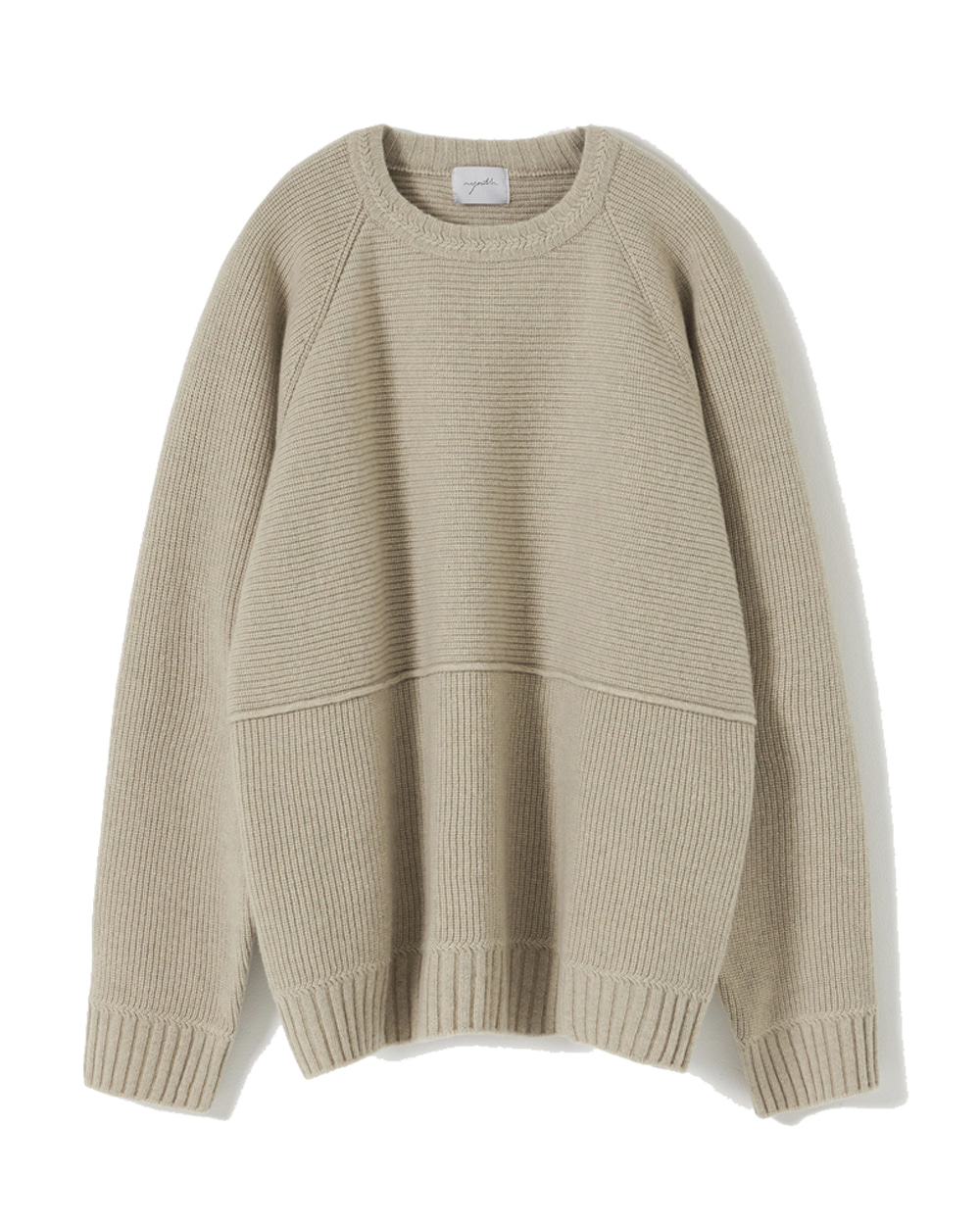 유스 Structured Sweater (Beige)