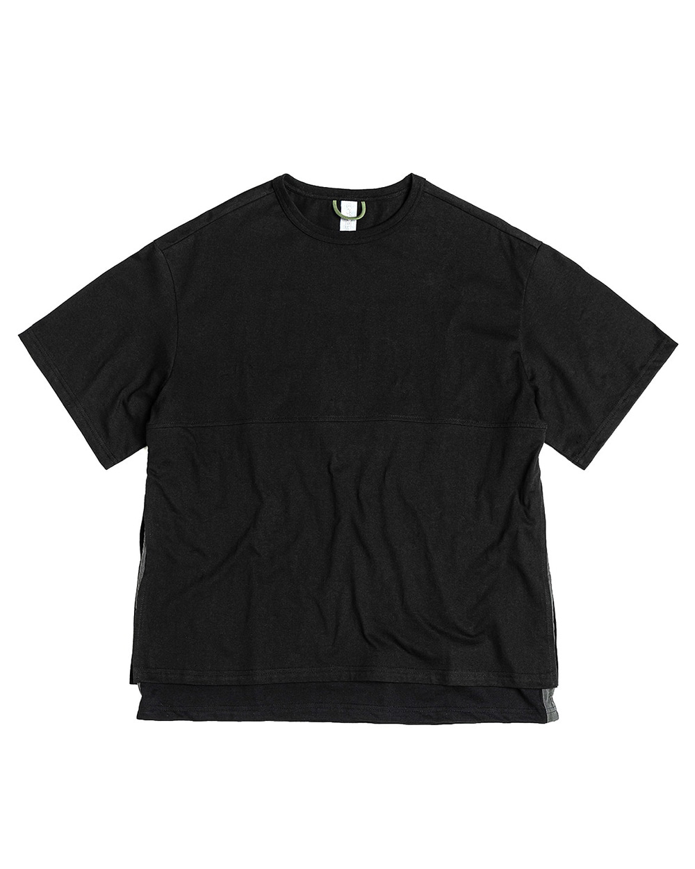 언어펙티드 LAYERED T-SHIRT (Black)