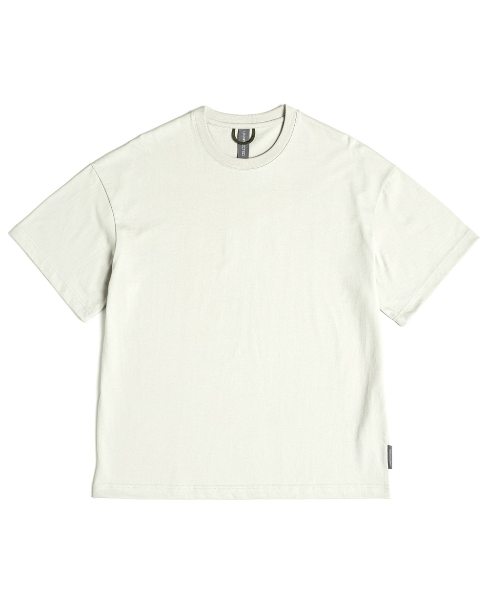 언어펙티드 LOGO LABEL T-SHIRT (Light grey)